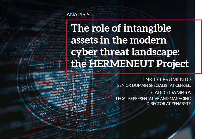 The role of intangible assets in the modern cyber threat landscape: our article for the European Cybersecurity Journal
